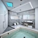 Как оформить ванную в белом цвете