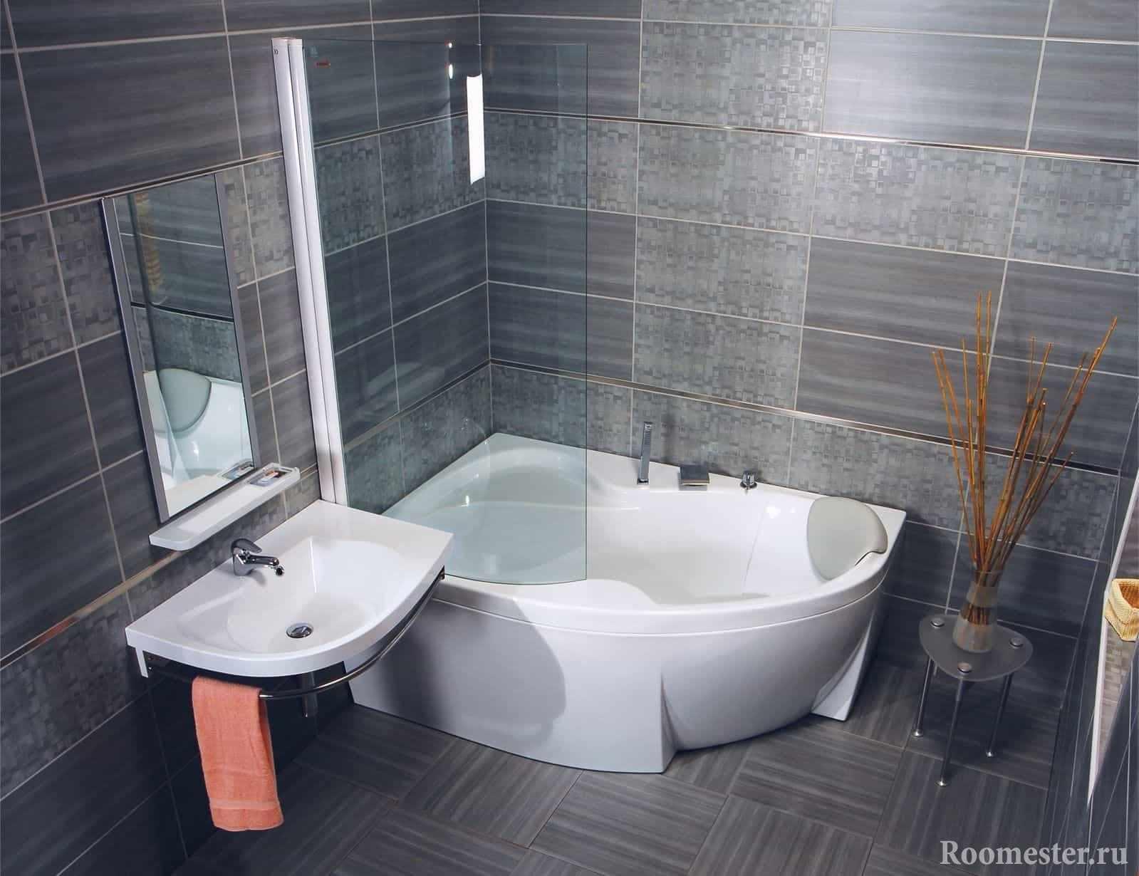 Не большая ванная комната