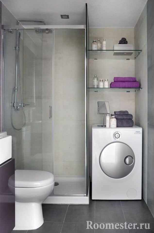 Выбор мебели и сантехники для ванны в хрущевке
