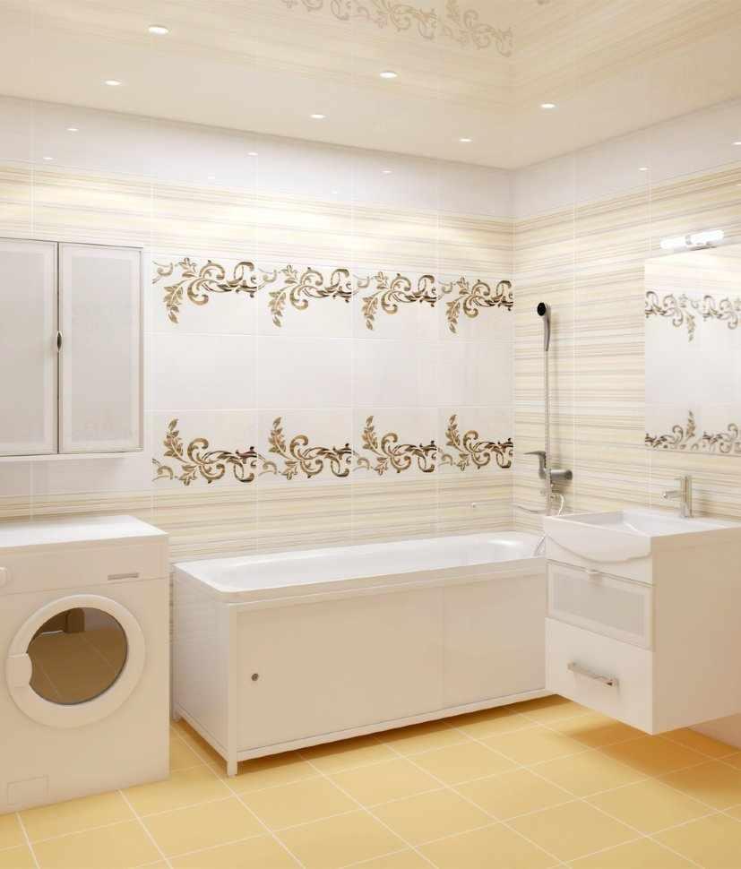 Светлые ПВХ-панели в ванной