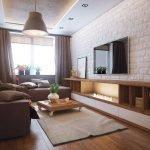 Стилизованный декор гостиной
