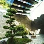 Сад под лестницей