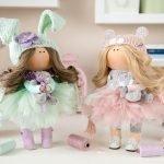 Девочки с зайчиками