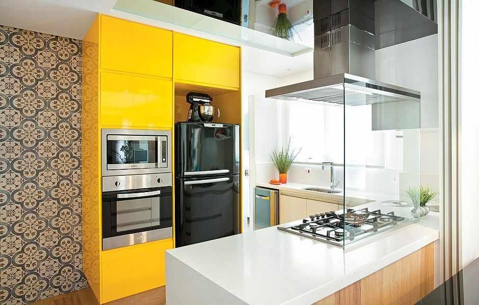 Кухня 4 кв м в стиле модерн