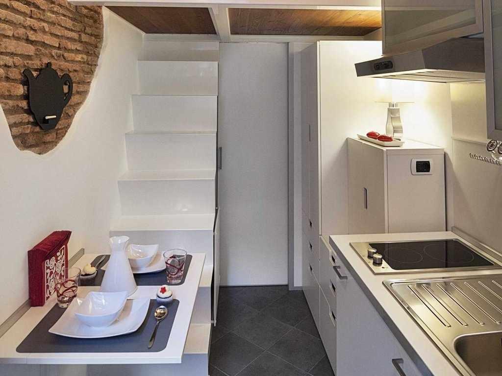Декор в интерьере кухни 4 кв м