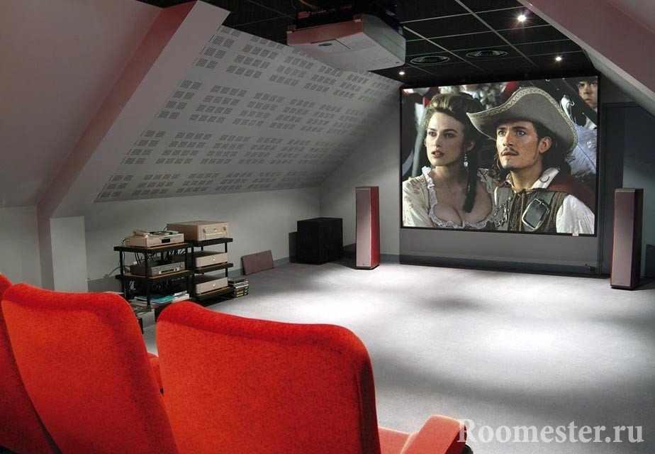 Телевизор на всю стену