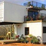 Мини дом из контейнера