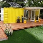 Желтый дачный домик