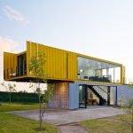 Дом из контейнеров в стиле лофт
