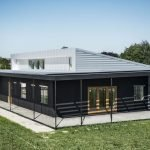Одноэтажный модульный дом