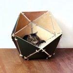 Многогранный домик для кошки