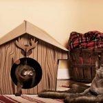 Декоративный домик для кошки