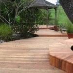 Террасная доска в качестве садового покрытия