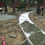 Как сделать дорожки в саду своими руками