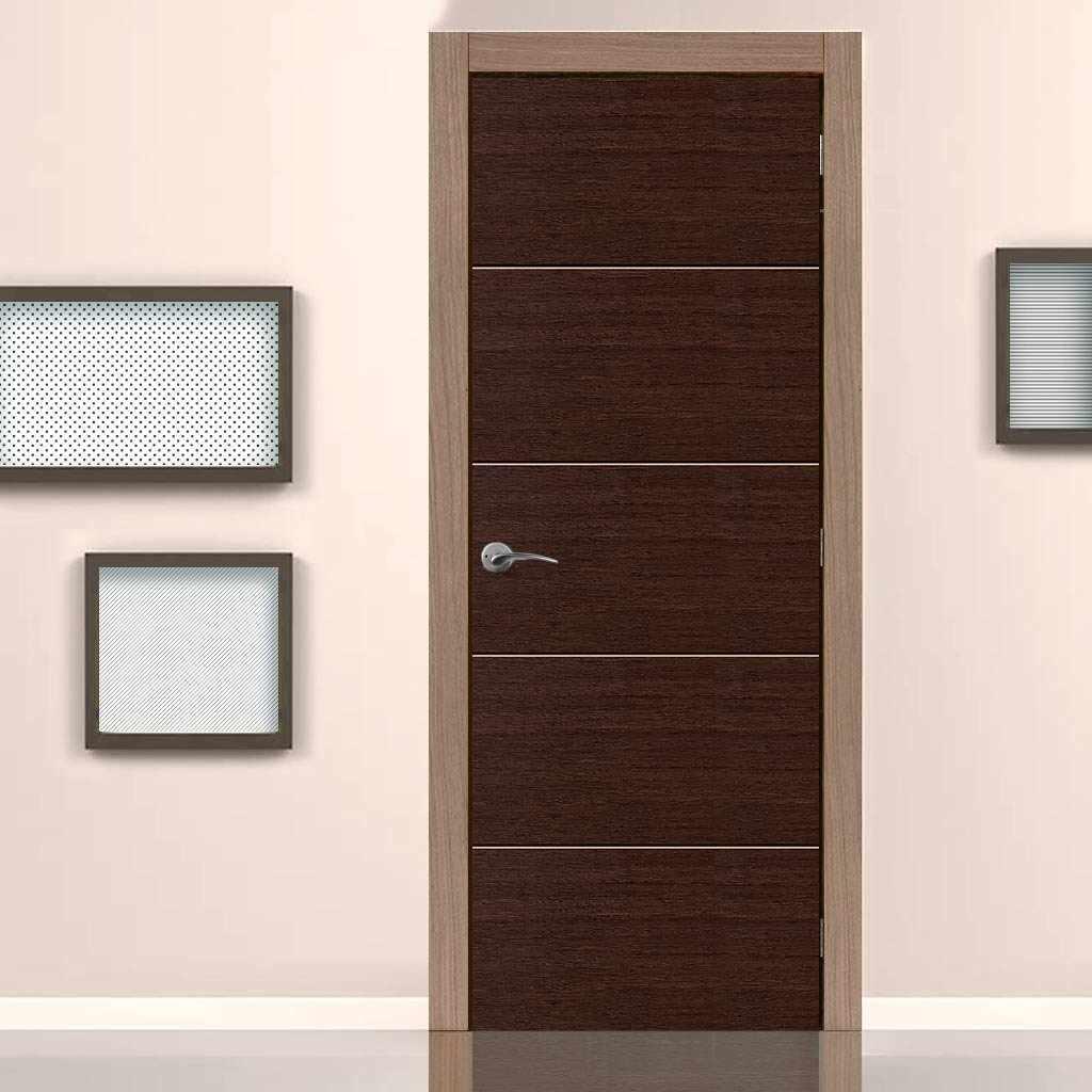 Межкомнатные двери венге