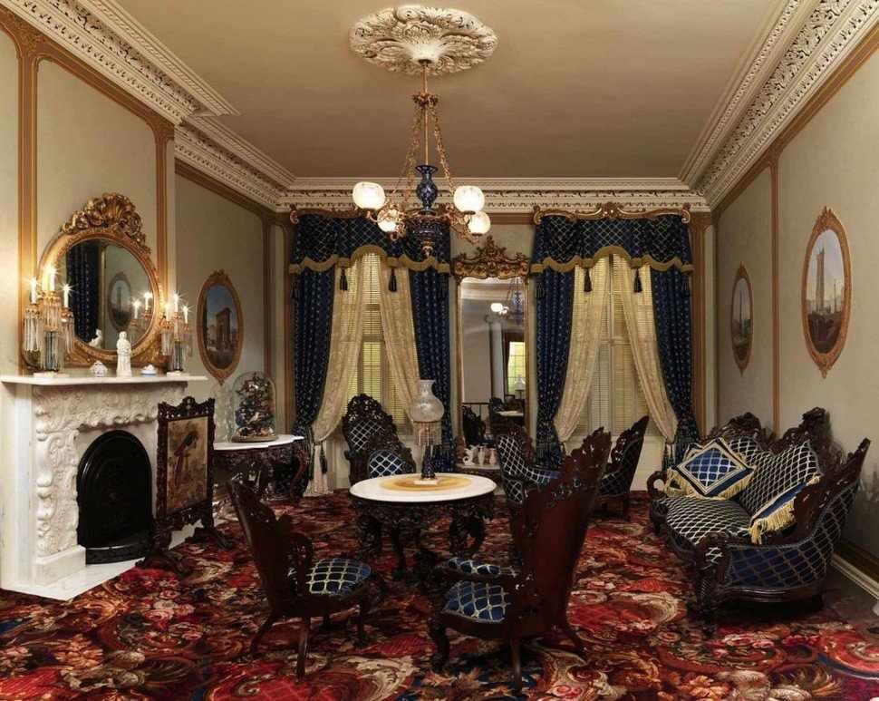 Оформление интерьера в дворцовом стиле