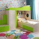 Многофункциональная двухъярусная кровать