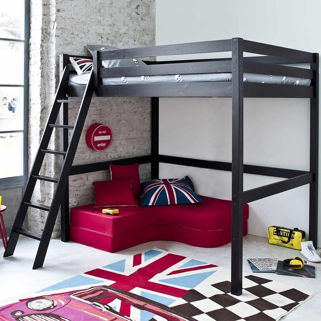 Двухъярусная кровать в стиле минимализм