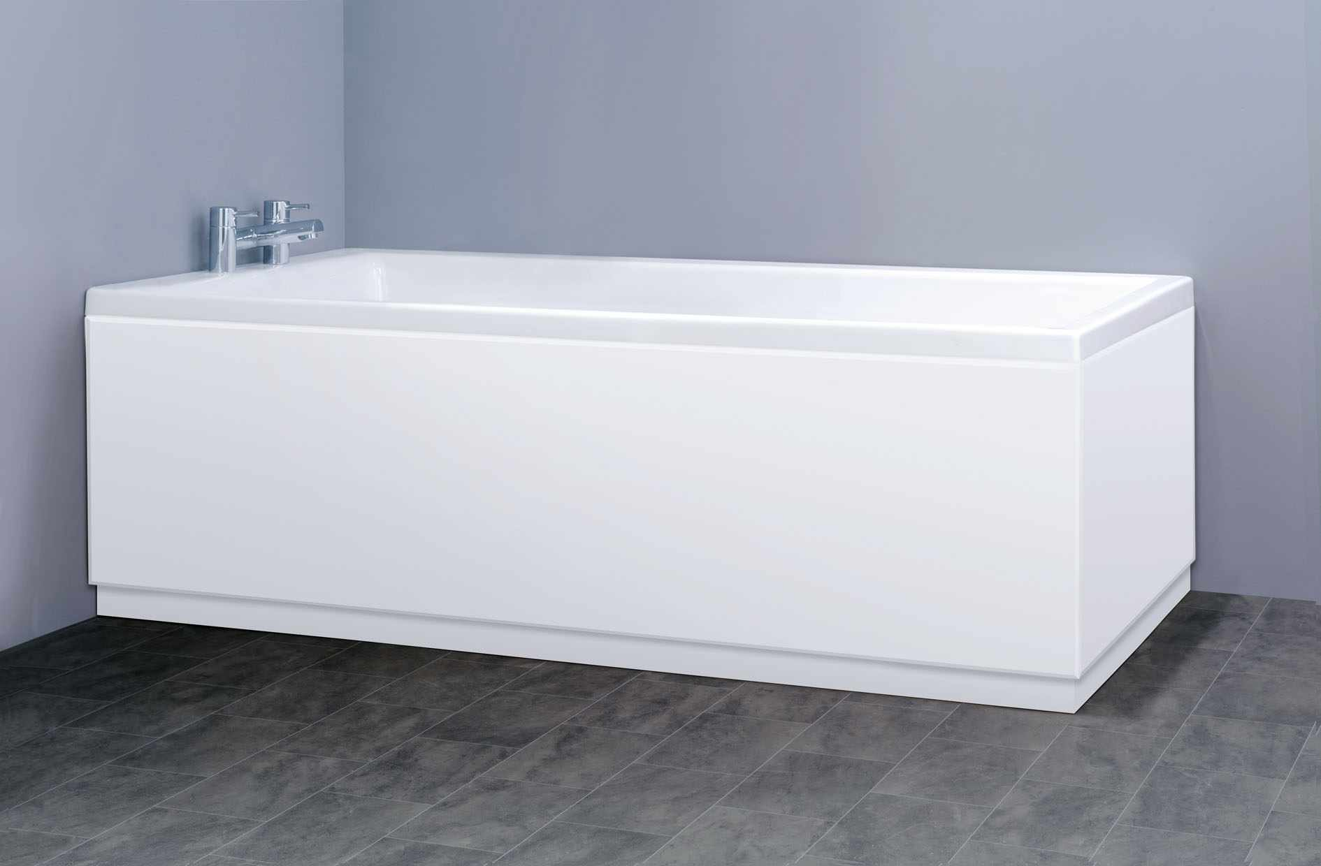 Ванна с монолитным экраном