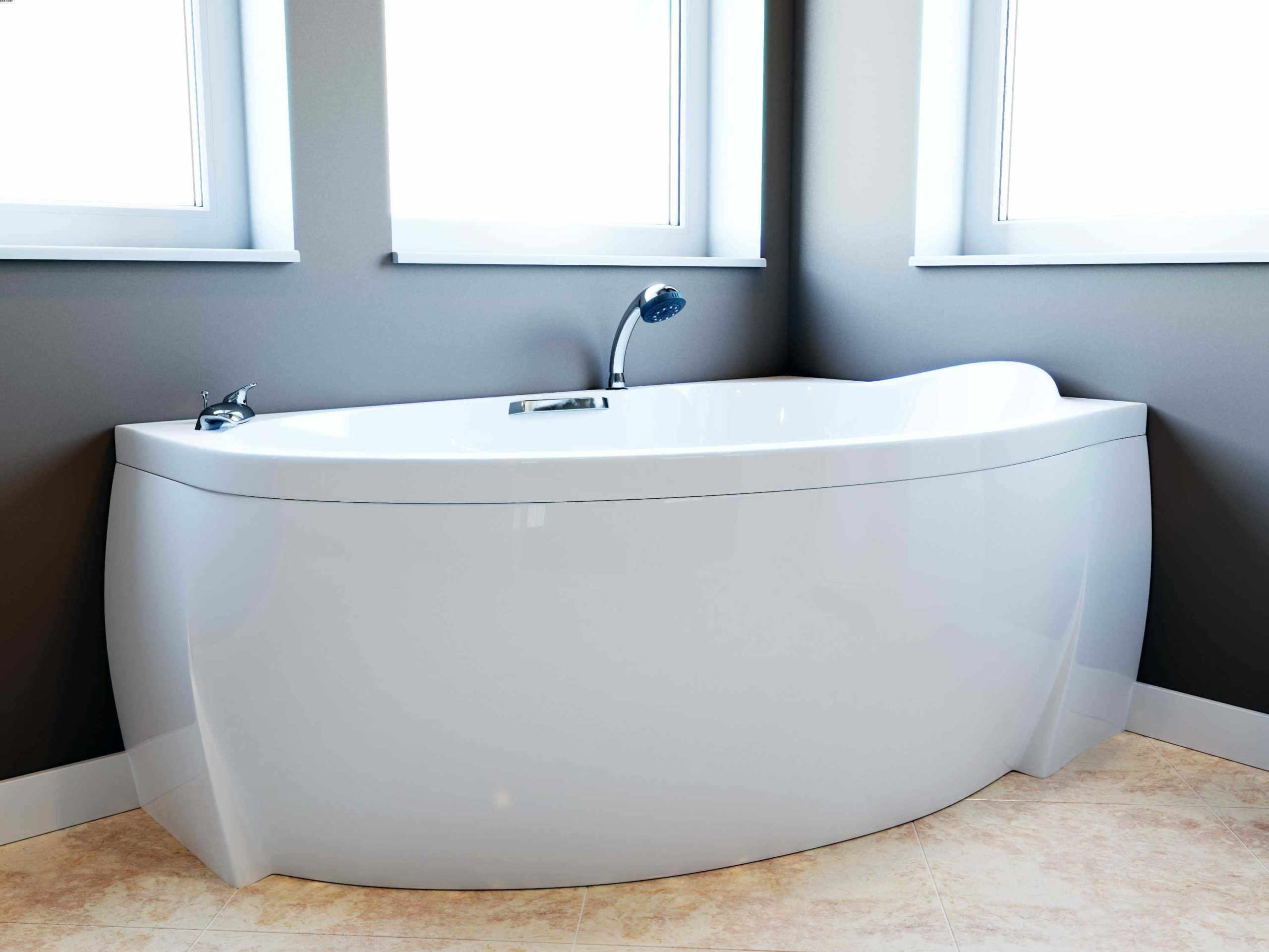 Ванна с готовым экраном
