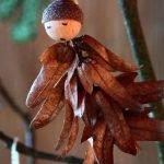 Ангел из шишки хмелеграба