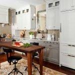 Кухня с плиткой елочкой