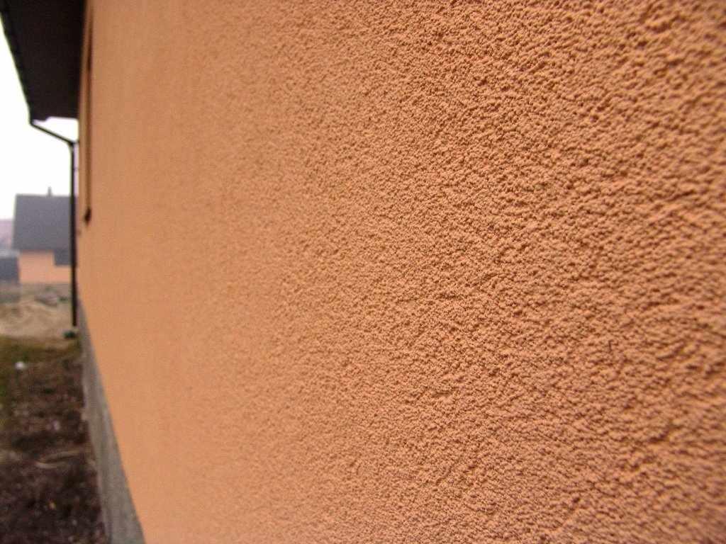 Акриловая штукатурка на фасаде