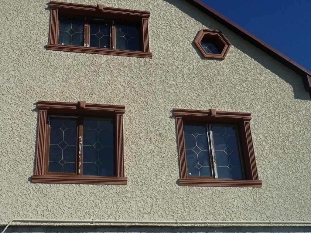 Звукоизоляционная штукатурки на фасаде