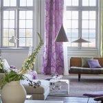 Фиолетово-зеленый текстиль