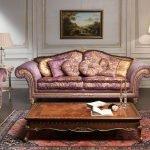 Мебель в стиле борокко