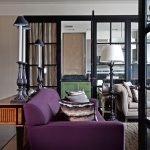 Фиолетовая софа