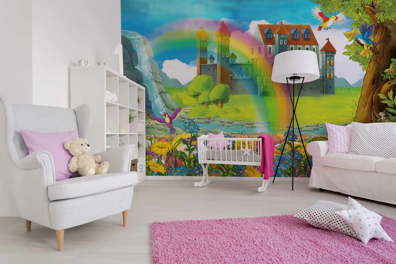 Детские фотообои в комнате