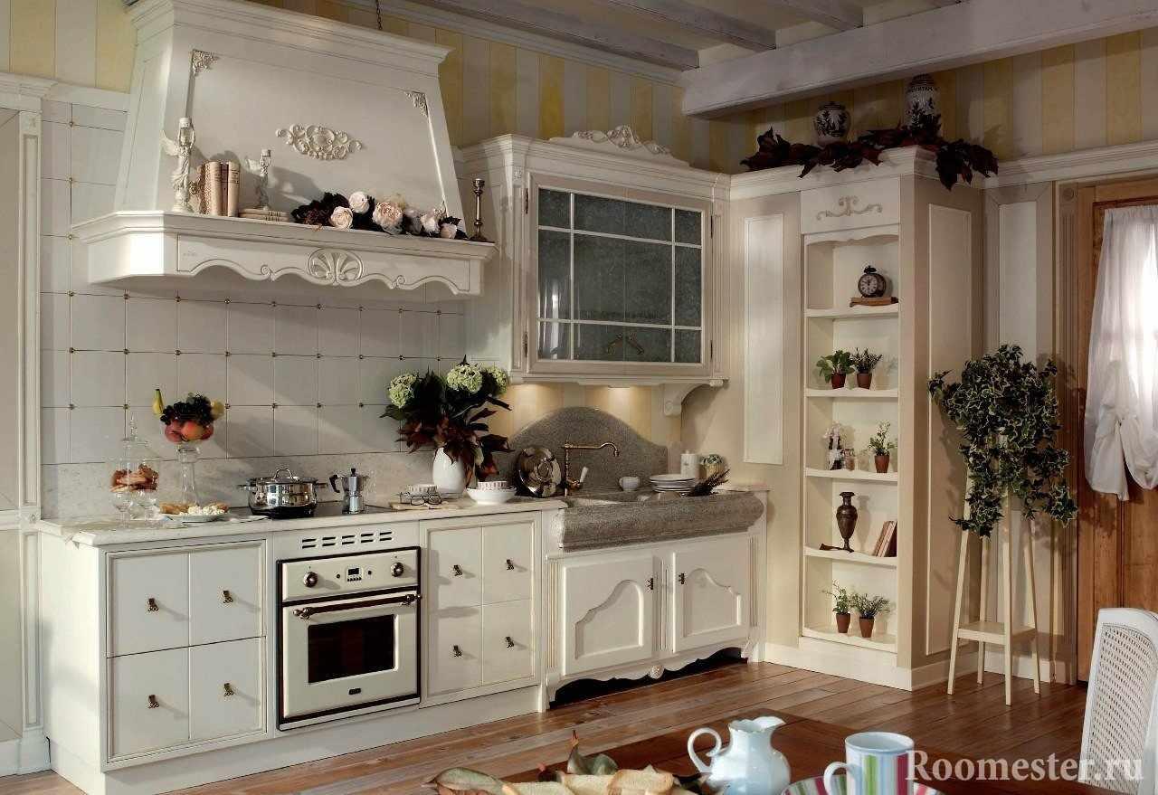 Оформление кухни декором в стиле Прованс