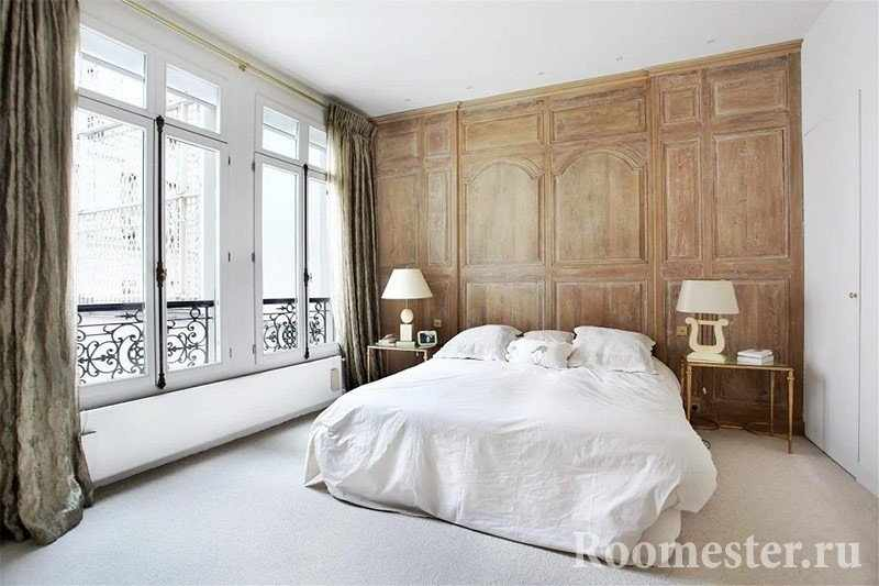 Французский стиль интерьера в спальне