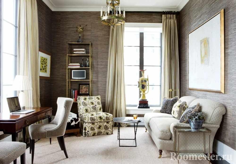 Интерьер французской гостиной