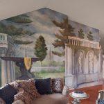 Красивые стены в гостиной