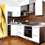Планировка интерьера кухни