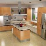 Кухня с лифтом