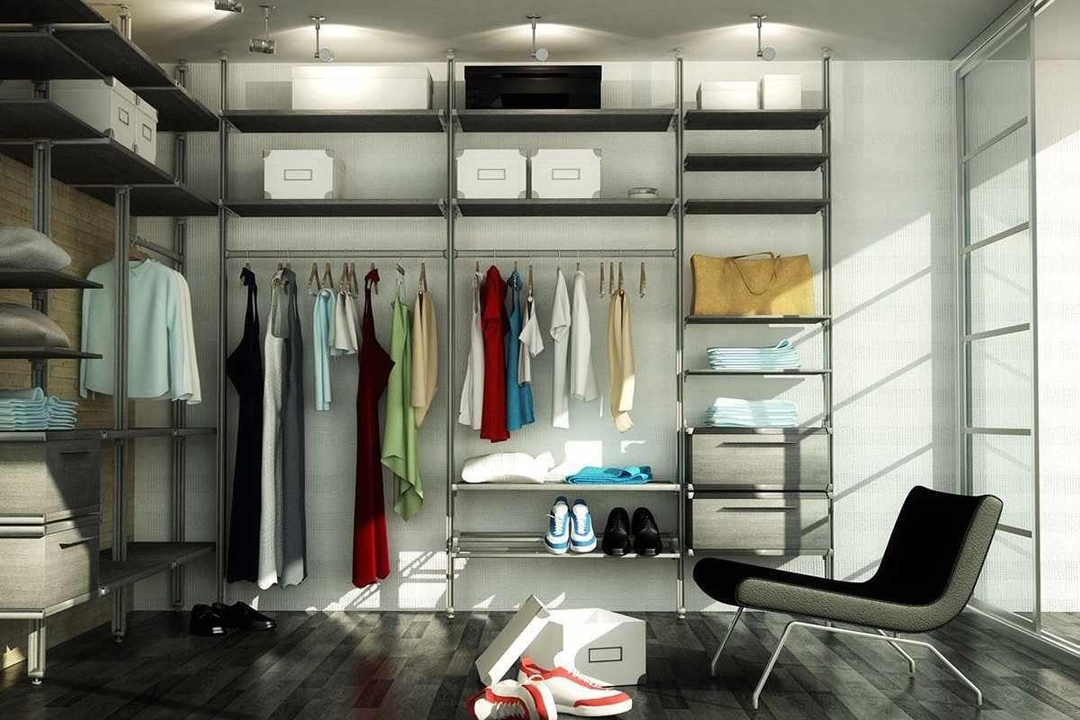 Сетчатый гардероб