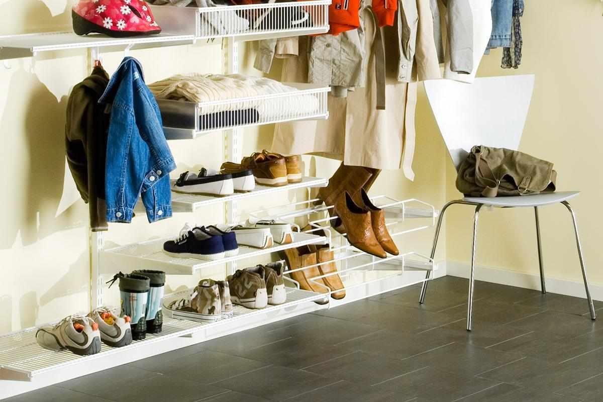 Обувь в гардеробной