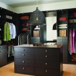 П-образный гардероб с комодом