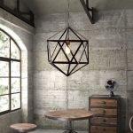 Лампа геометрическая фигура