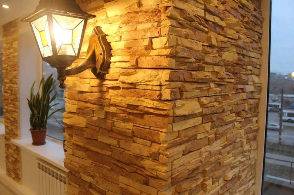 Стена в плитке