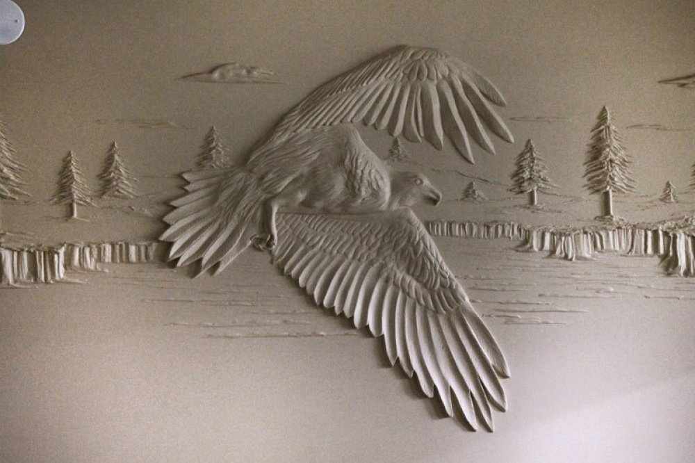 Объемная птица