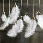 Из перьев