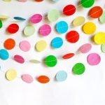 Разноцветные бумажки
