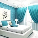 Голубой текстиль