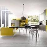 Кухня-столовая в стиле модерн