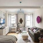 Правильное зонирование однокомнатной квартиры