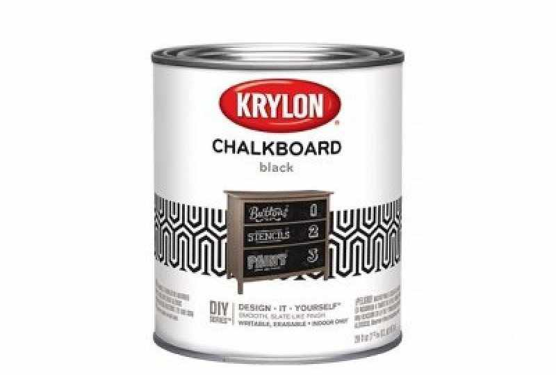 Грифельная краска Krylon Chalkboard Paint